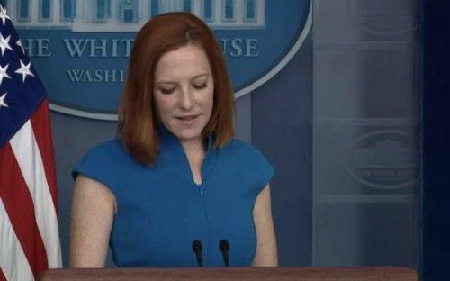 WH Press Sec. Jen Psaki: Biden supports decriminalizing marijuana use at the federal level.