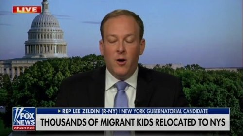 """Rep. Lee Zeldin (R-NY): """"Drug trafficking, human trafficking ... We need a secure border here in New York State."""""""