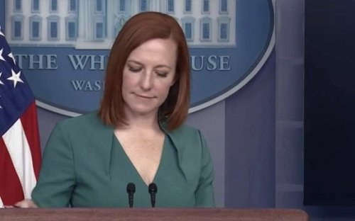 "WH Press Sec. Psaki responds to Fox News' Peter Doocy about Rep. Liz Cheney's (R-WY) expected ousting: ""Well, Peter..."""