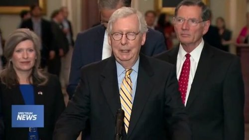 """Sen. McConnell: """"The biggest lie ... has been that the states are involved in a systematic effort to suppress the vote."""""""