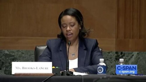 Chiquita Brooks-LaSure speaks on becoming the 1st Black woman to be nominated to lead Centers for Medicare and Medicaid.
