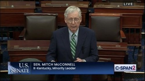 """Sen. Minority Leader McConnell (R-KY): """"This new administration and this Democratic Congress were set up for success."""""""