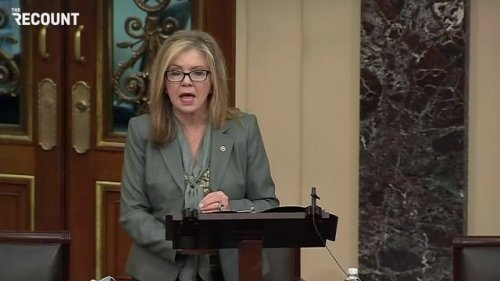 Sen. Blackburn (R-TN) is bashing the Biden's border policy while her home state is focusing on another school shooting.