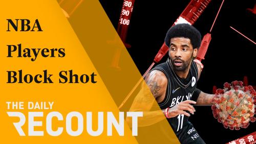 NBA Players Block COVID Shot
