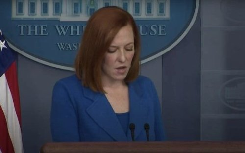"WH Press Sec. Psaki on unemployment benefits and labor shortage: ""There's also the need to pay a livable working wage."""