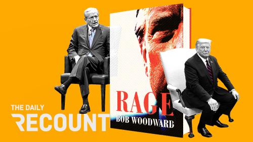 Trump Rages Against the Woodward Machine