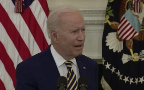 Biden on Catholic bishops moving to deny Catholic politicians from receiving communion over support for abortion rights.