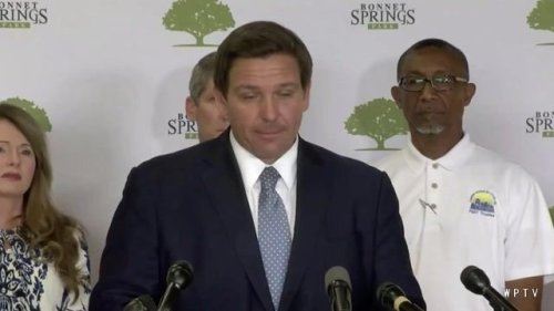 "Gov. DeSantis (R-FL) says two masks isn't needed after the vax: ""If you get a vaccine ... you're immune. So act immune."""