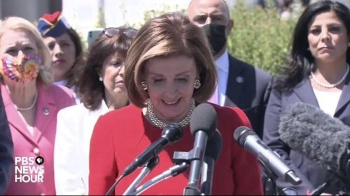 """Speaker Pelosi reintroduces the """"I Am Vanessa Guillen Act"""" to address sexual assault in the military."""