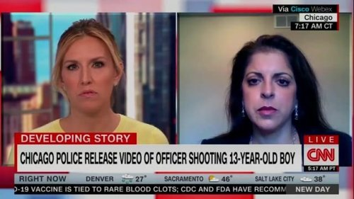 """Toledo family attorney Adeena Weiss-Ortiz: """"Do you see a gun in his hands?... The child complied... the child was shot."""""""