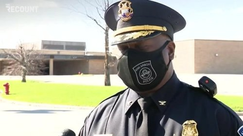 Ann Arbor Police Chief Cox updates press on the Briarwood Mall shooting, which was locked down after 1 person was shot.