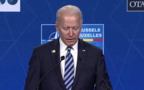 "Pres. Biden on Kremlin critic Alexei Navalny: His death would show Russia ignoring ""basic, fundamental human rights."""