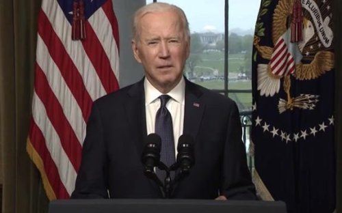 President Biden says he spoke with former President George W. Bush about Afghanistan withdrawal.