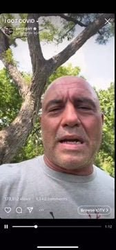 Popular podcaster Joe Rogan, who dismissed COVID vaccine, tells followers he has tested positive for COVID.