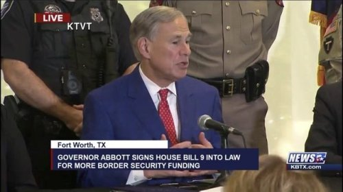 """Gov. Abbott (R-TX) prediction during a spike in TX COVID cases: """"We've already seen the worst of the Delta variant."""""""