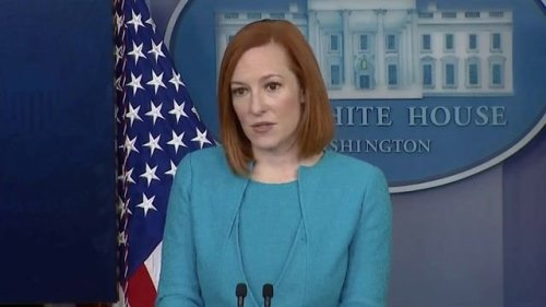 """WH Press Sec. Psaki says Russia still bares """"some responsibility"""" for the Colonial Pipeline cyberattack."""