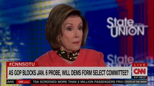 Speaker Nancy Pelosi on whether she may launch a select committee to investigate the January 6th insurrection.