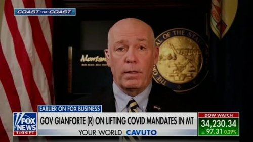 Gov. Greg Gianforte (R-MT) is pulling the state out of the federal COVID unemployment program due to worker shortage.