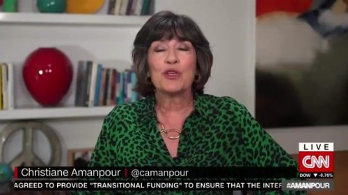 """CNN Chief International Anchor Christiane Amanpour announces she's been diagnosed with ovarian cancer: """"I'm confident."""""""