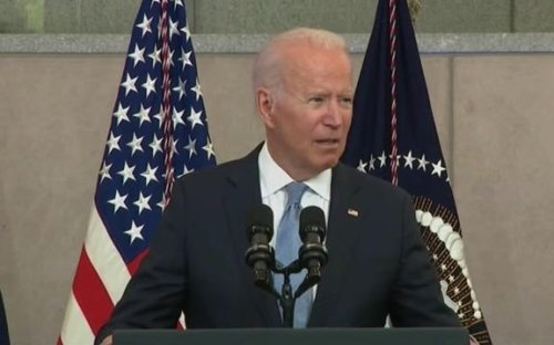 """President Biden on Republican-led bills to restrict voting: """"The 21st century Jim Crow assault is real ..."""""""