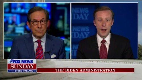 """Nat Sec Adviser Jake Sullivan: """"President Biden has no intention of sending forces back to Afghanistan..."""""""