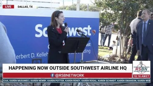 Some Southwest Airlines employees protest vaccine mandate ahead of December 8th deadline.