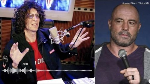 """Howard Stern slams Joe Rogan for using Ivermectin: """"A doctor would also give you a vaccine, so why take horse dewormer?"""""""