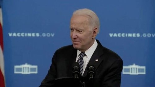 """""""I came away encouraged."""" — President Biden says of his meeting with bipartisan leadership."""