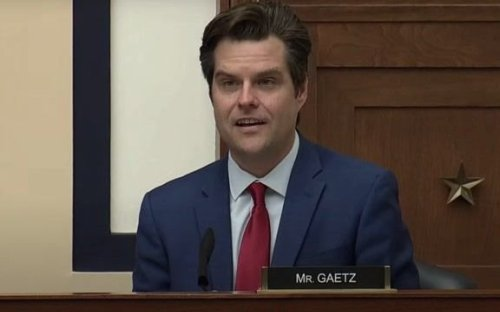 "Rep. Matt Gaetz (R-FL): ""The brightest minds in America are working on likes and shares and memes."""