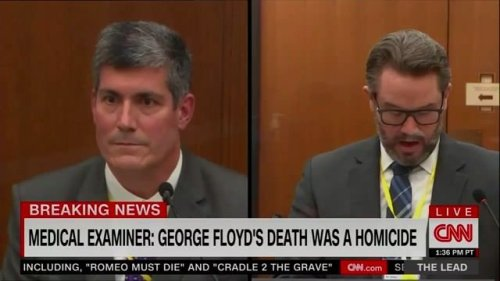 Dr. Baker during cross-examination: Heart disease, history of hypertension, and drug use played a role in Floyd's death.