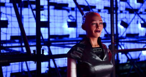 Sophia the Robot Sells NFT Self Portrait for $688,000