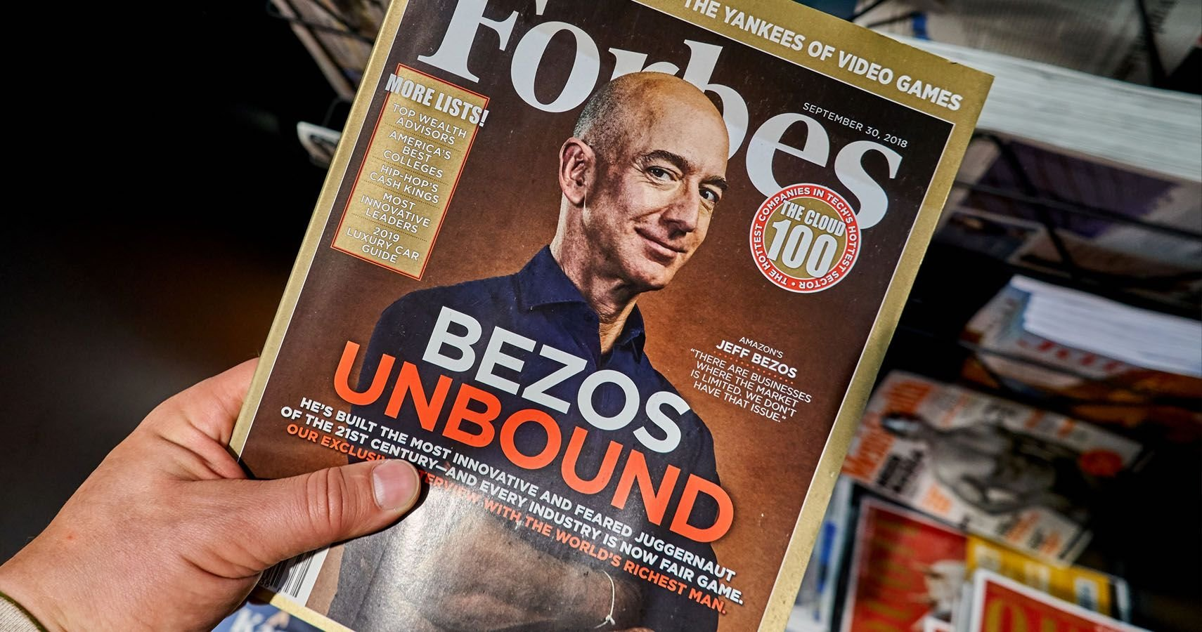 Lessons From The Amazon: The Best Jeff Bezos Tips For Success - cover