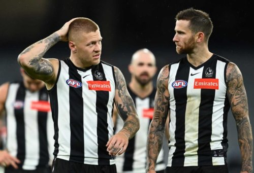The Pies were lost at sea against West Coast