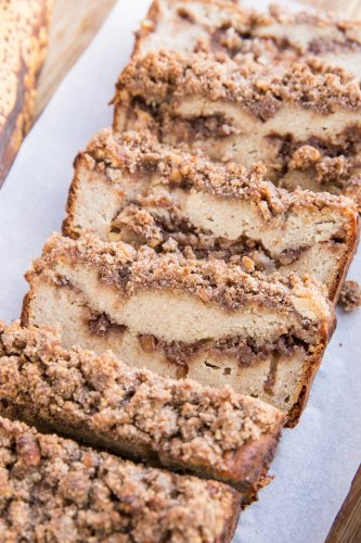 Paleo Cinnamon Swirl Banana Bread - The Roasted Root