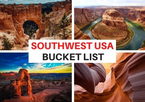 Best Places to Visit in the American Southwest