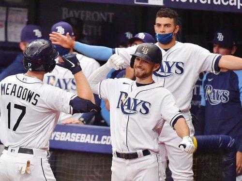 Meadows, Arozarena go yard as Rays beat Yankees