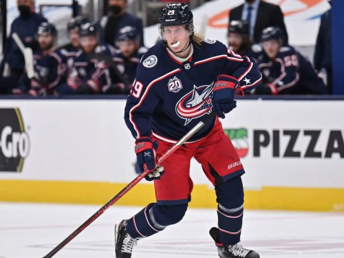 Blue Jackets' Laine: 'I want to stay here for sure'