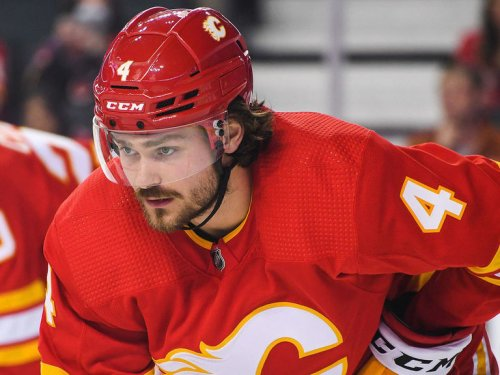 Watch: Flames' Andersson headbutts Oilers' Yamamoto