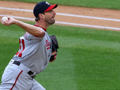 Scherzer becomes 5th to record 10-plus strikeouts in 100 career games