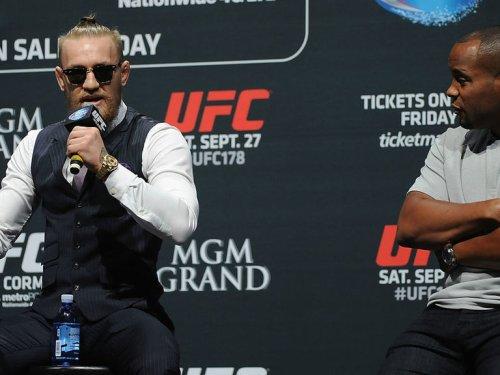 Cormier: McGregor 'taking it way too far' trash-talking Poirier, Khabib