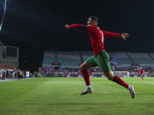 Ronaldo scores 10th international hat-trick in big Portugal win