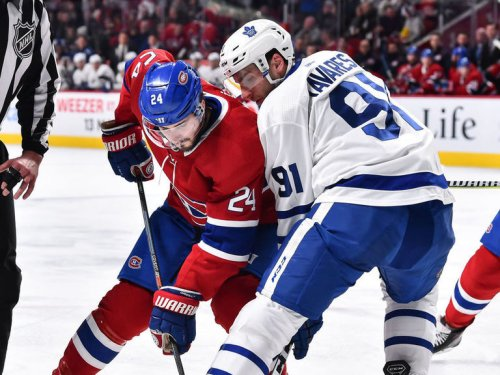 North playoff matchups set: Canadiens clash with Leafs, Jets take on Oilers