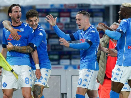 Napoli up to 2nd place after 5-1 demolition of Udinese