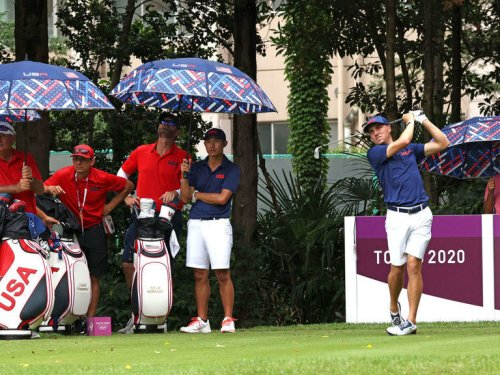 Tee times, groups announced for opening rounds of Olympic golf