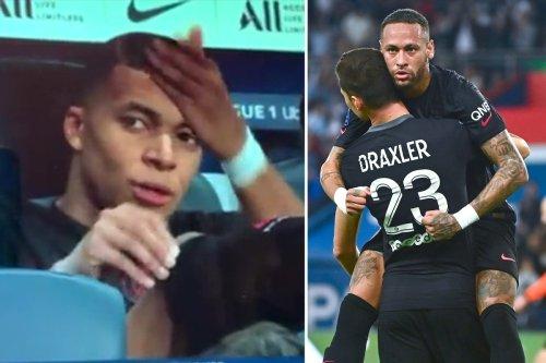 PSG ace Mbappe 'filmed moaning about Neymar not passing him ball' vs Montpellier