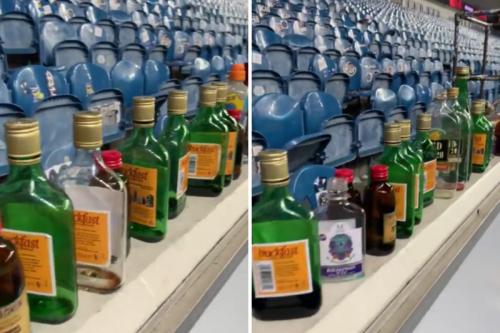 French journalist amazed by Rangers fans' haul of empty Buckfast bottles