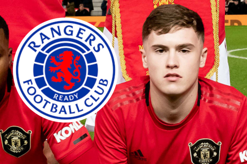Rangers 'poised to sign' Manchester United ace Charlie McCann in transfer coup