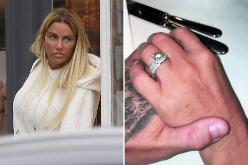 Katie Price flashes £50k engagement ring in loved-up video with Carl Woods