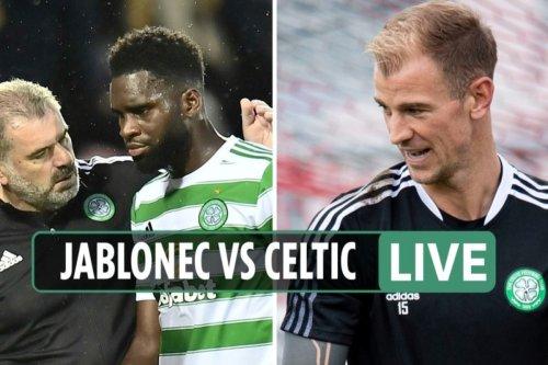 Jablonec vs Celtic LIVE: Updates from Europa League clash in Czech Republic