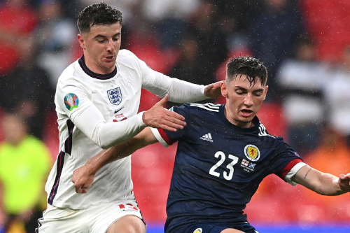 Billy Gilmour's Scotland-England heatmap revealed as starlet shines at Wembley